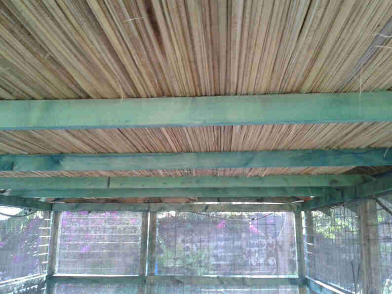 reed insulation to keep temperature cooler